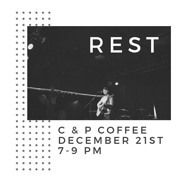 I've got a show coming up on December 21st at C & P coffee. I'd love to see you there!