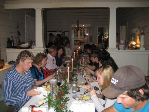Thanksgiving at Georgia's, 2007