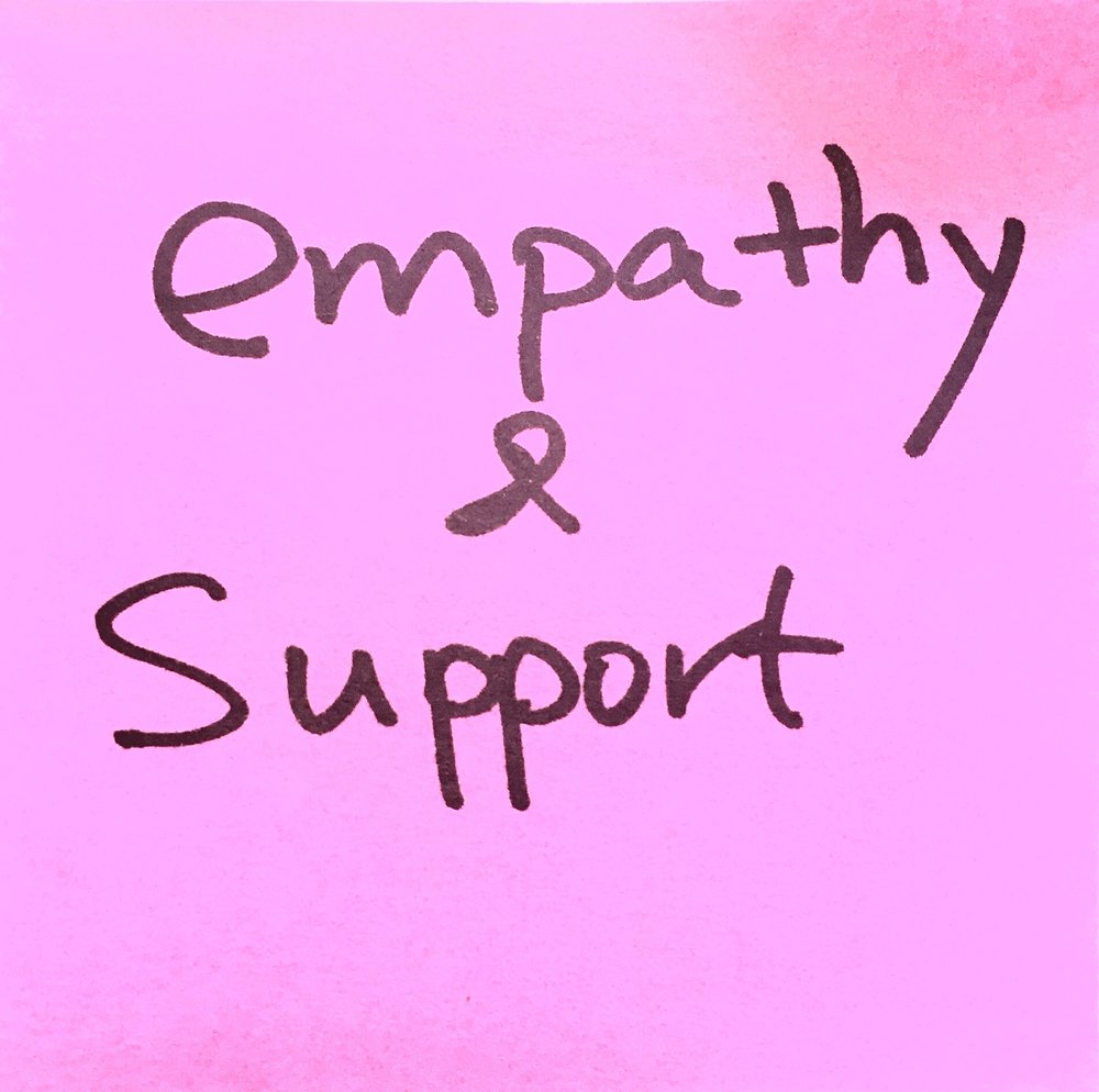 empathy and support