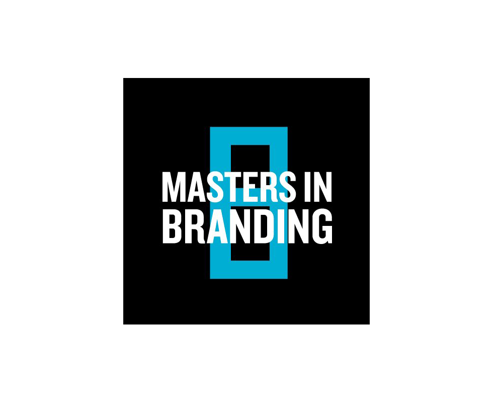 Logo of he Masters in Branding Programme of the School of Visual Arts, NYC.