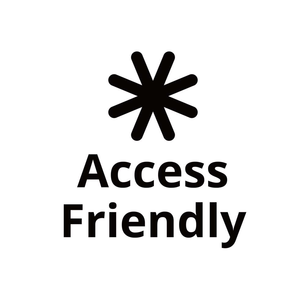 Graphic symbol for Access Friendly rating.