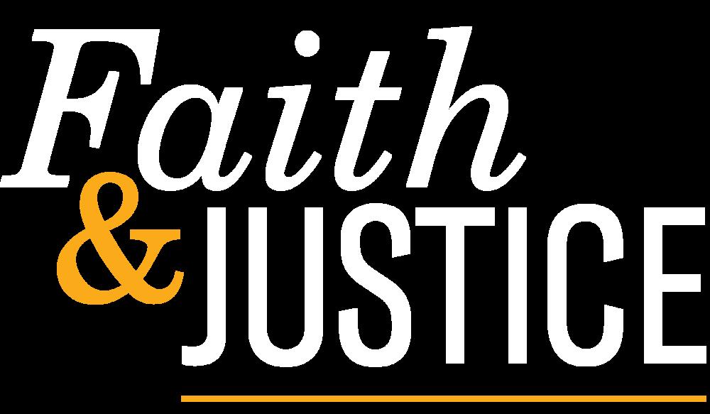Faith & Justice GA Logo