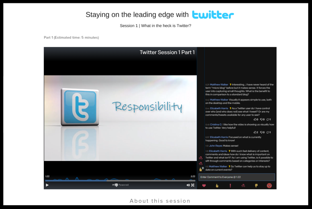 Twitter Session 1 Demo