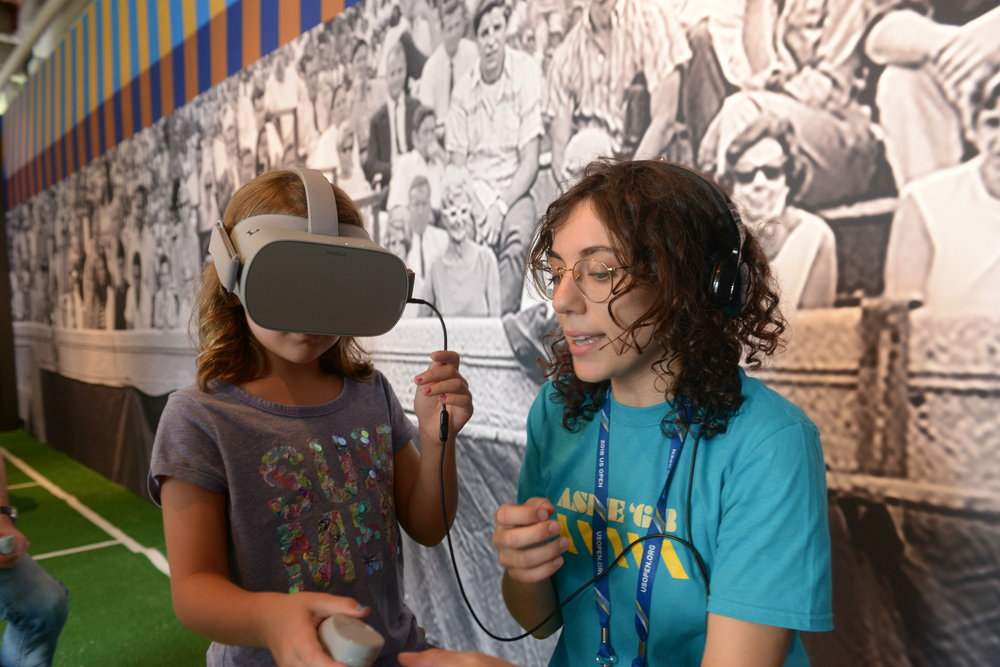 The Ashe 68 Virtual Reality Experience was seen by thousands of people of all ages.