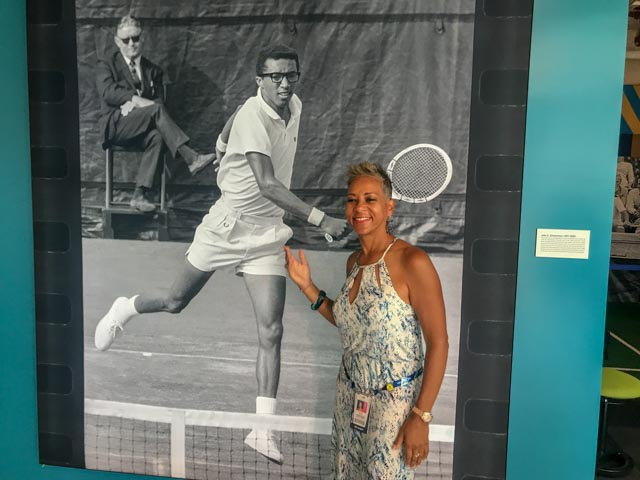 USTA CEO Katrina Adams, our biggest supporter.