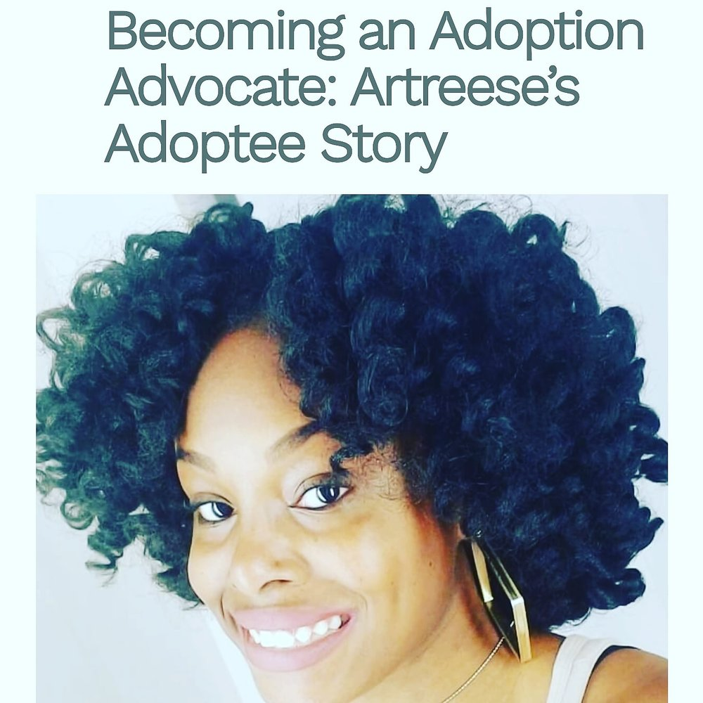 Adoption is an option! - Read my story as it relates to an adult adoptee's experience with foster care and adoption