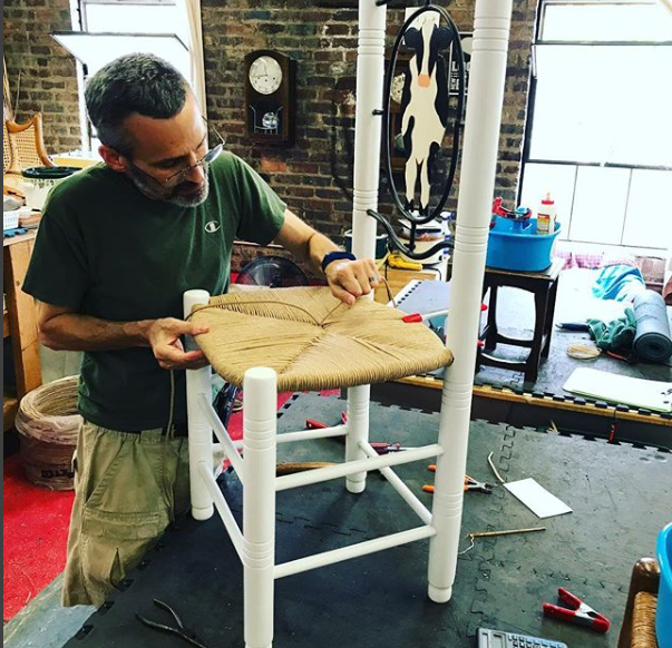 My name is Jay Hirsch. I started woodworking as a child with my father who managed a hardware store in Philadelphia, PA. My Grandfather was also a woodworker, creating pieces of furniture for our family. I have spent years building both indoor and outdoor furniture, which led me directly to my interest in restoring chairs to their former glory. -