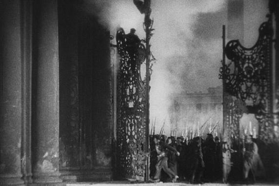 Film still from S. Eisenstein's 'October', 1927-28
