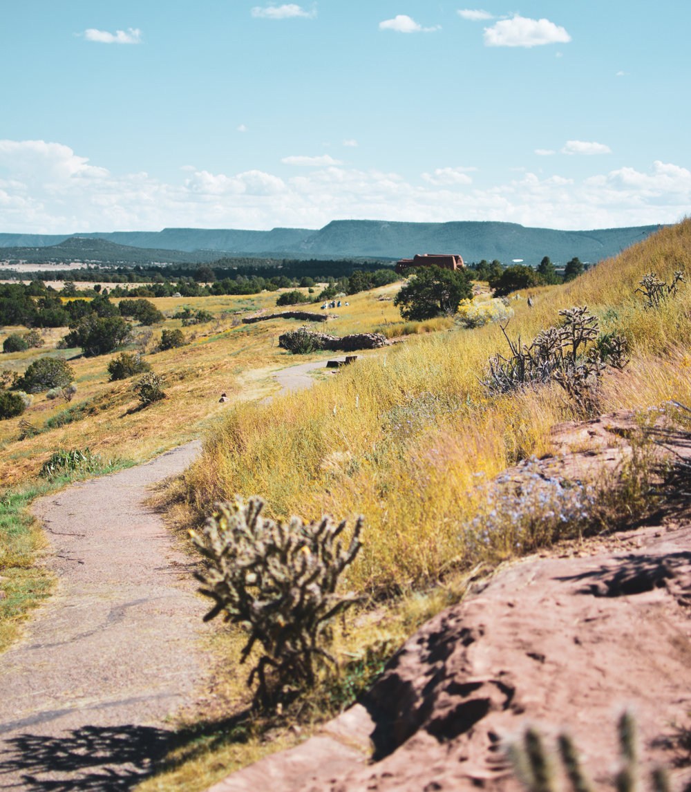 Hike to Pecos National Monument
