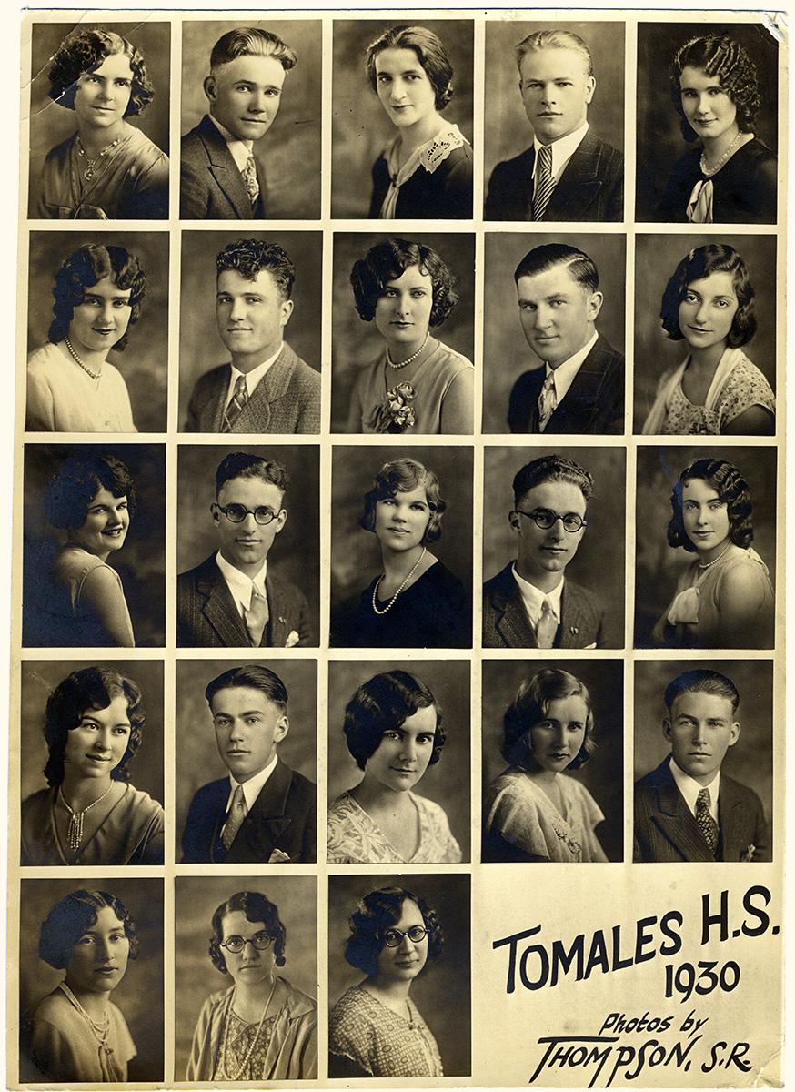 1930 Tomales High School Class