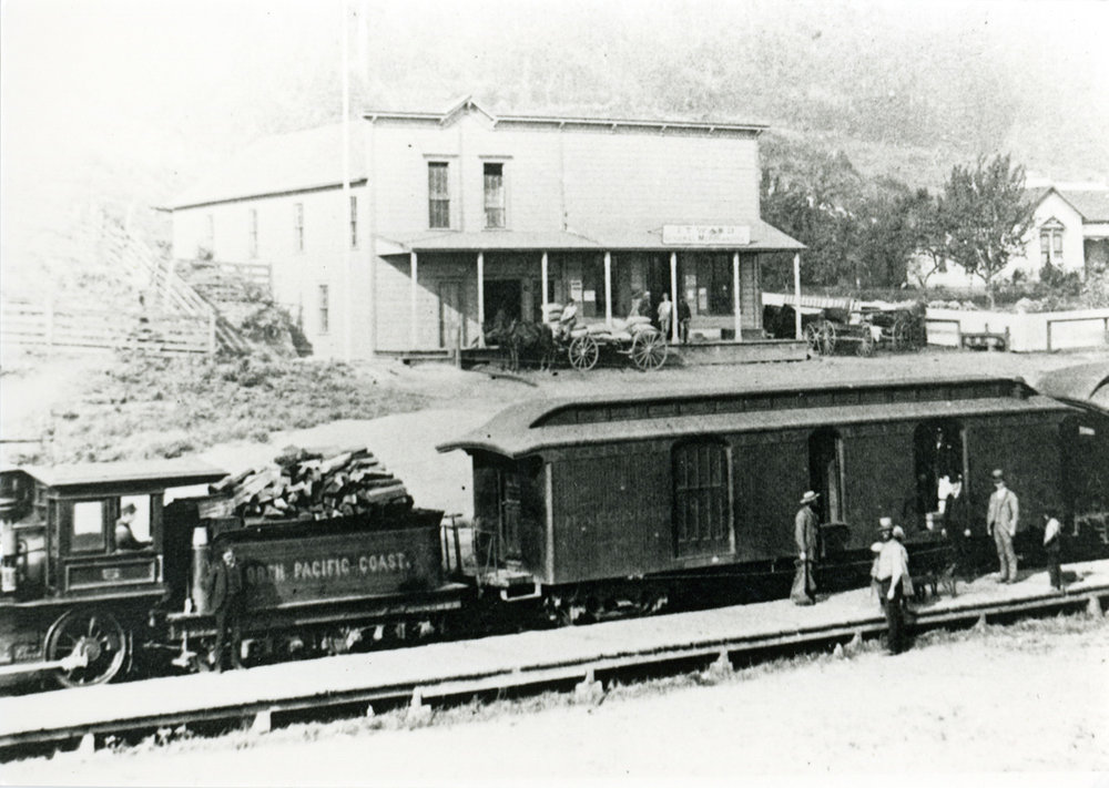 Train at Freestone
