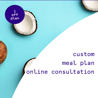 1 off custom meal plan    $138.00USD