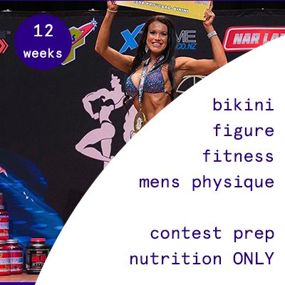 12 week contest prep  $810.95USD