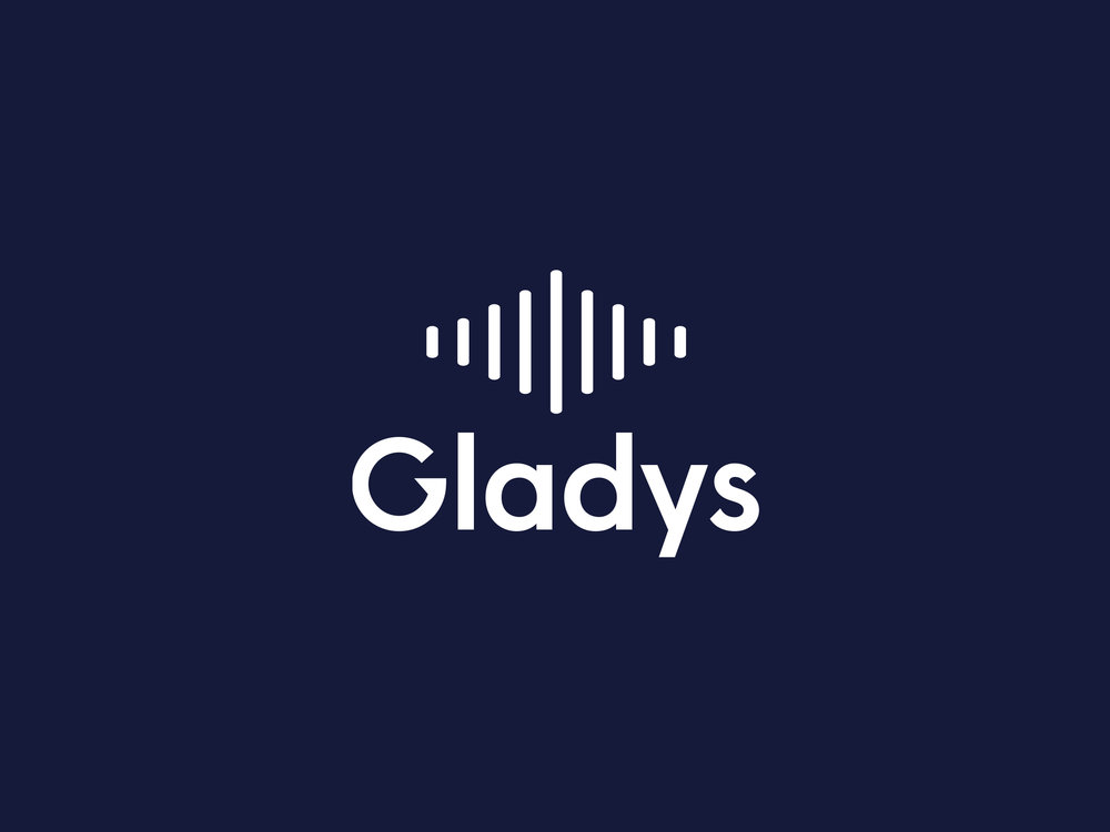 Taking the idea of digitally recorded speech, this route variation captures this in a simple but adaptable mark that represents Gladys via natural shapes of mouth and eye.