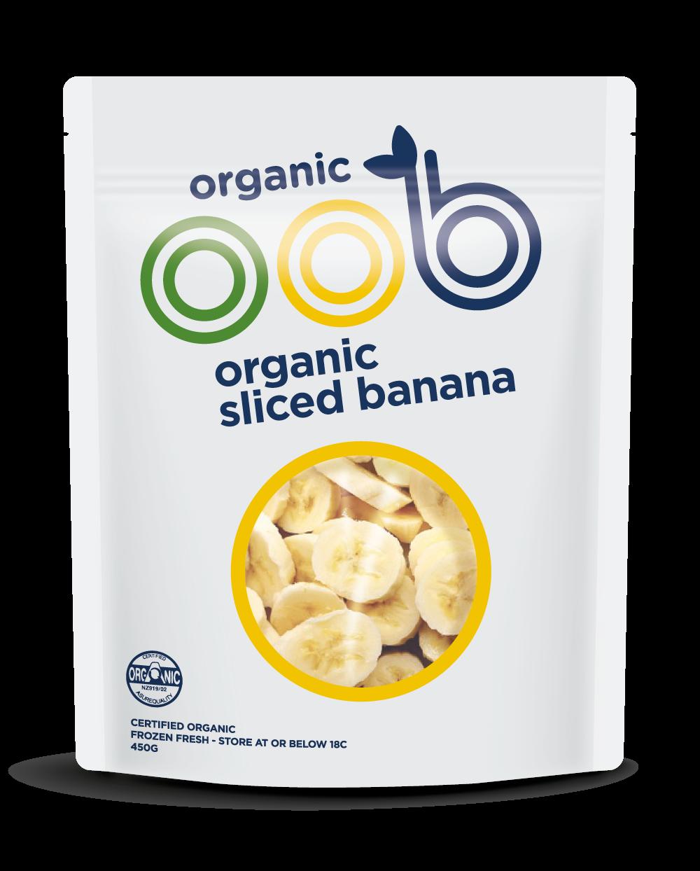 organic frozen banana
