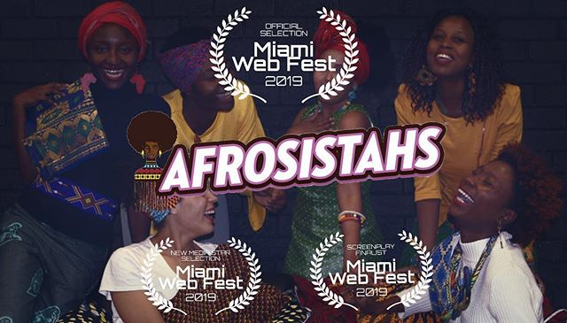 📣Are you paying attention?! 📣  Your fave #afrosistahs are taking on the world 🌍! So excited to be Officially Selected to be a part of @miamiwebfest ! The diaspora is strong with this one and we can't wait to share the experiences of #afroaustralians with you all! All the love to the incredible team we had for our shorts and there's no doubt that we'll keep going up n up! check out what categories we've been selected for through the ☝🏾 #linkinbio ☝🏾 —————————————————————— #celebrate #awards #festival #anotherone #international #miamiwebfest #official #africansinaustralia #blackdiaspora #blackgirlmagic @issarae #lineitup #makeitAustralian #representationmatters #goingglobal