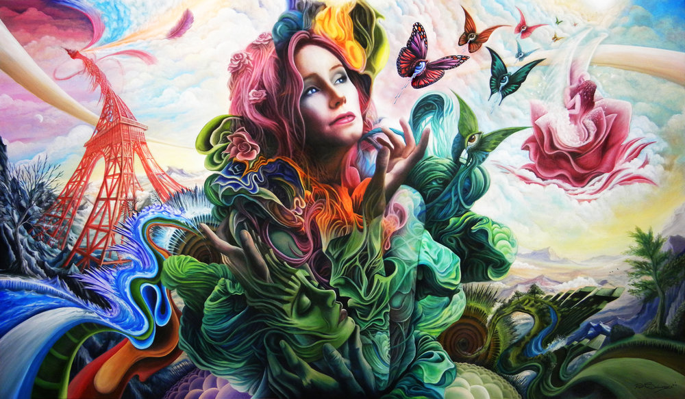 Winged Painter