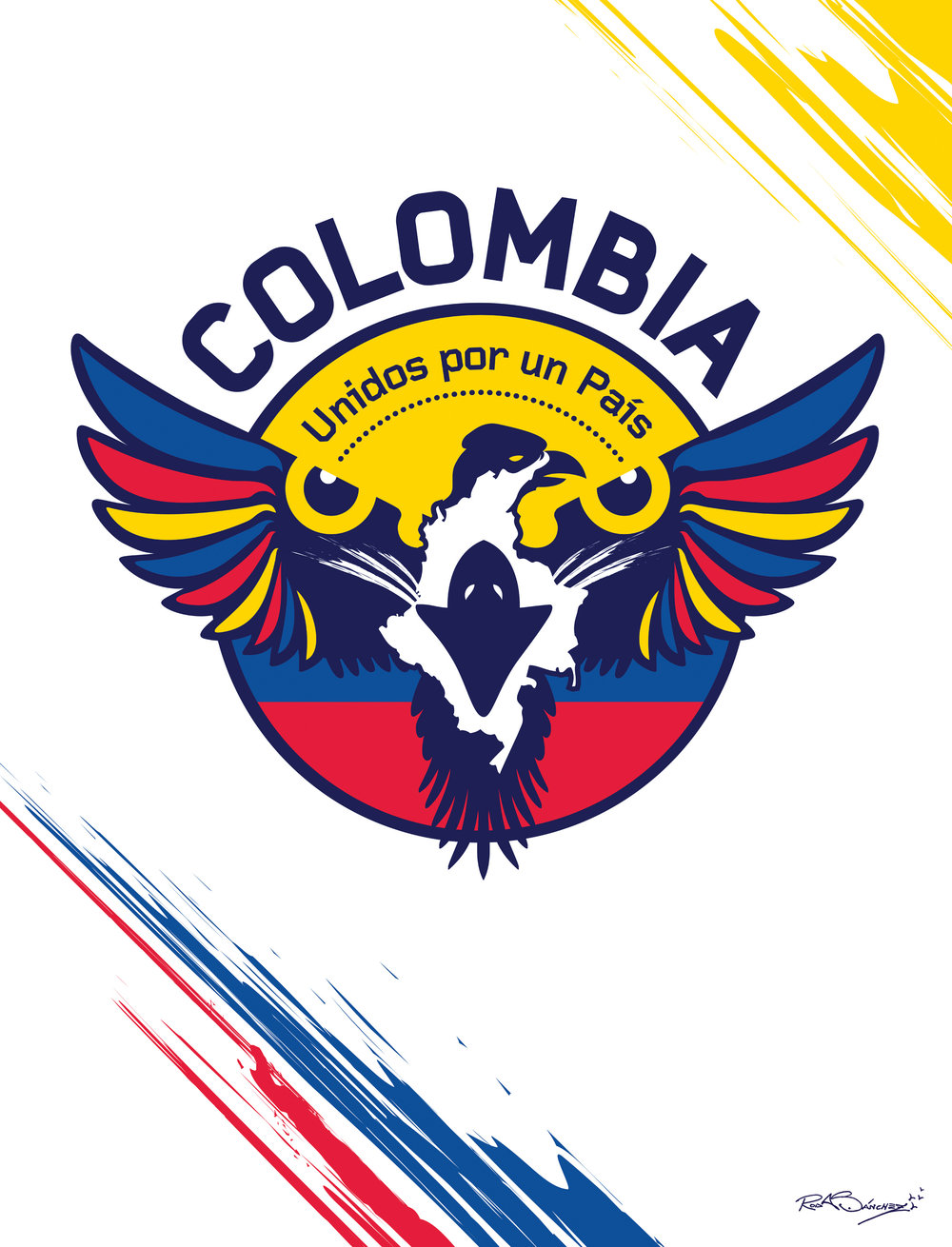 Colombia National Team Emblem