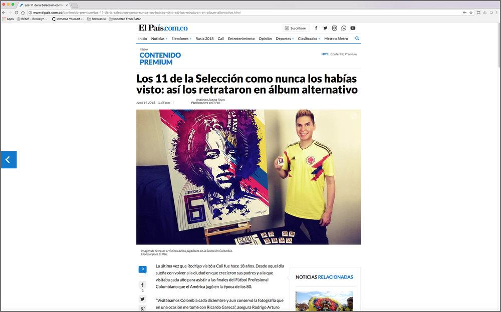 El Pais.com.co (Article Feature)