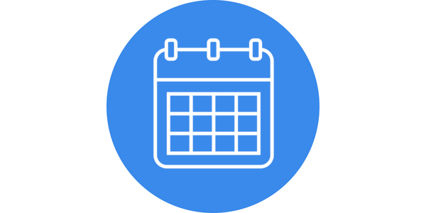 Blue Image White Wide Background Calendar.png