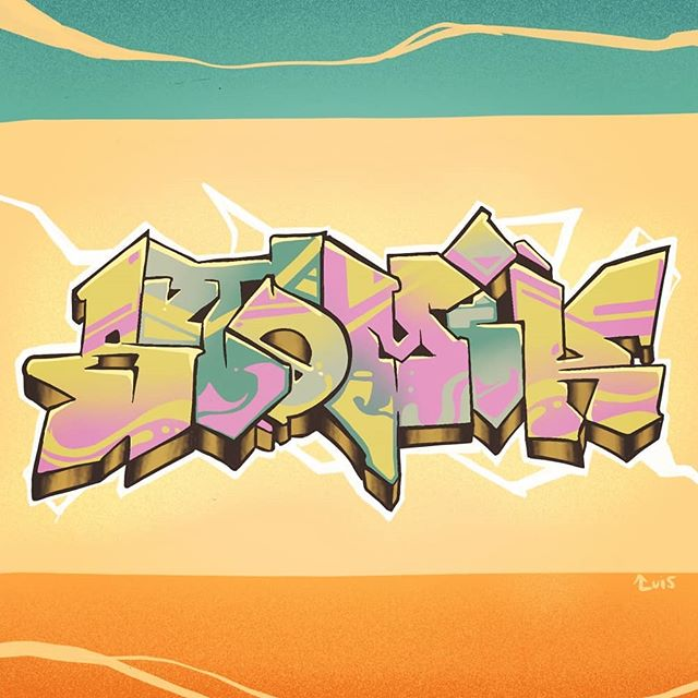 Graffic #graffiti#art#graphic#procreate