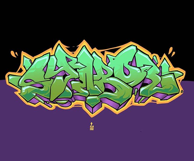 """Sym"" #graffiti#art#procreate#illustration#design#green#graphic#drip#hiphop"