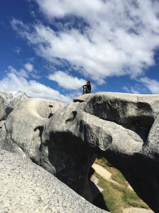 なんにもないところにどどーーんと巨石群が広がってたりする。なんで観光地として名前が知られてないのかが不思議。