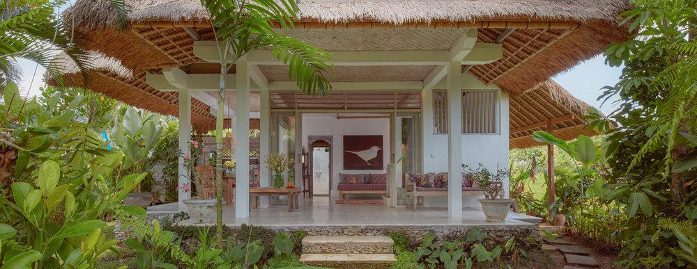 view to wrap around verandah