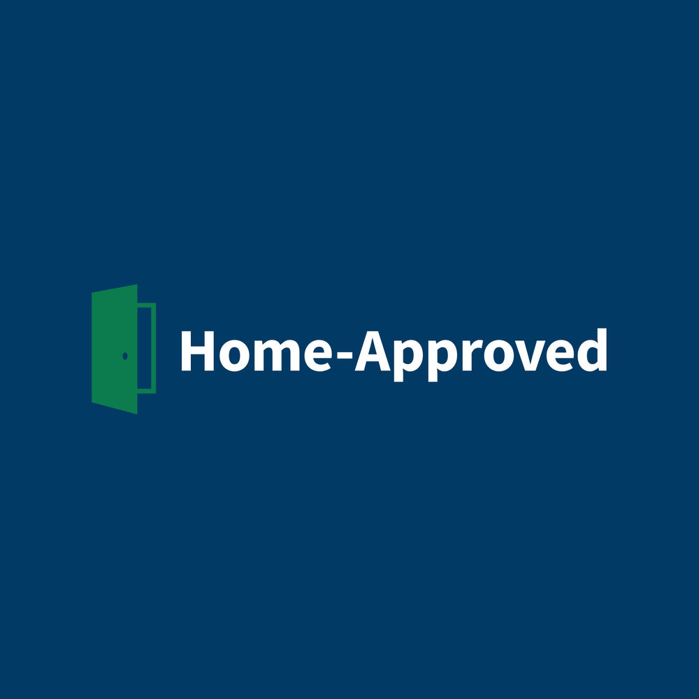 Simple logo design for Home Approved