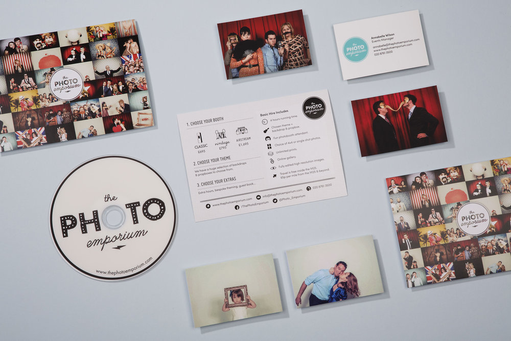Modern professional graphic design for The Photo Emporium