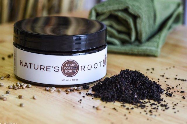 Nature's Root,    Hemp Coffee Scrub