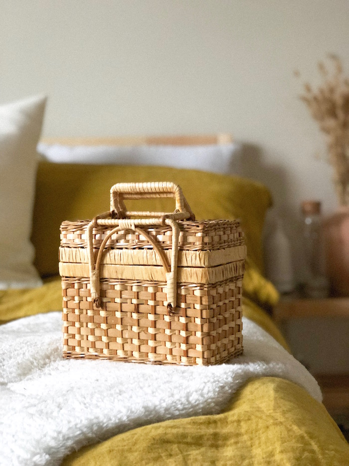 The most beautiful woven stash basket
