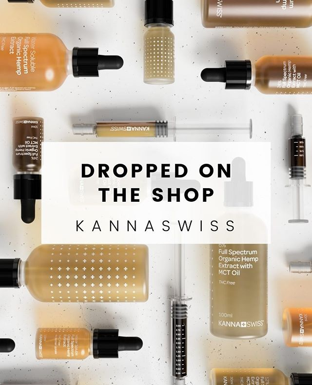 💥NEW ON THE SHOP💥⁣ KANNASWISS 🇨🇭⁣ ⁣ These high quality full spectrum hemp extract tinctures are now available in a variety of concentrations in both 10ml or 30ml at theCURATOR. Made with MCT oil and organically-farmed hemp plants, these tinctures are the perfect addition to your every day wellness routine. ⁣ ⁣ SHOP NOW & TREAT YOSELF.⁣ LINK IN BIO ⁣ #theCURATORltd #Kannaswiss #Cannabis #hemp #hempextract  #CBD #tincture #CBDOil #fullspectrum