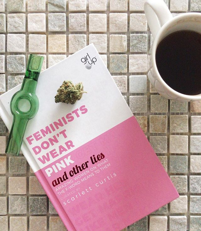 """It is not our differences that divide us. It is our inability to recognize, accept and celebrate those differences."" - Audre Lorde  Saturday's are for chilling out, smoking up and feeding your mind. What was the last book you read?  #theCURATORltd #feministsdontwearpink #feminists #cannabis #laundryday #smoking #glasspipes #highdesign #bookworm #feedyourmind"