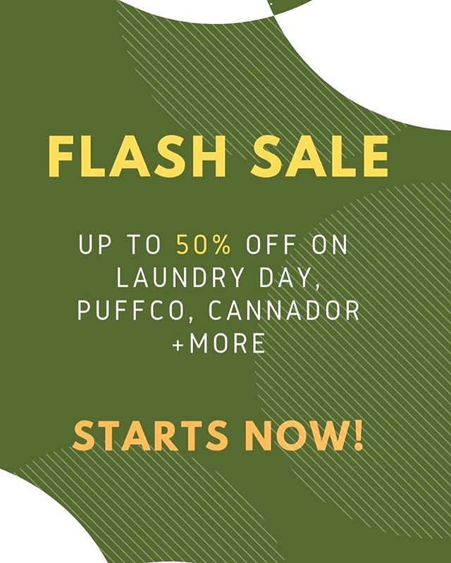 🚨FLASH SALE!  Shop link in bio for up to 50% off our favourites from @laundryday.co, @naturesroot, @santacruzshredder and more! Get shopping quick because sale ends March 28, 2019 at 11:59pm.  P.S there's a hemp coffee scrub in there for £7.50!! #cannabiSKIN  #theCURATORltd #flashsale #cannabis #cbd #naturesroot #skincare #wellness