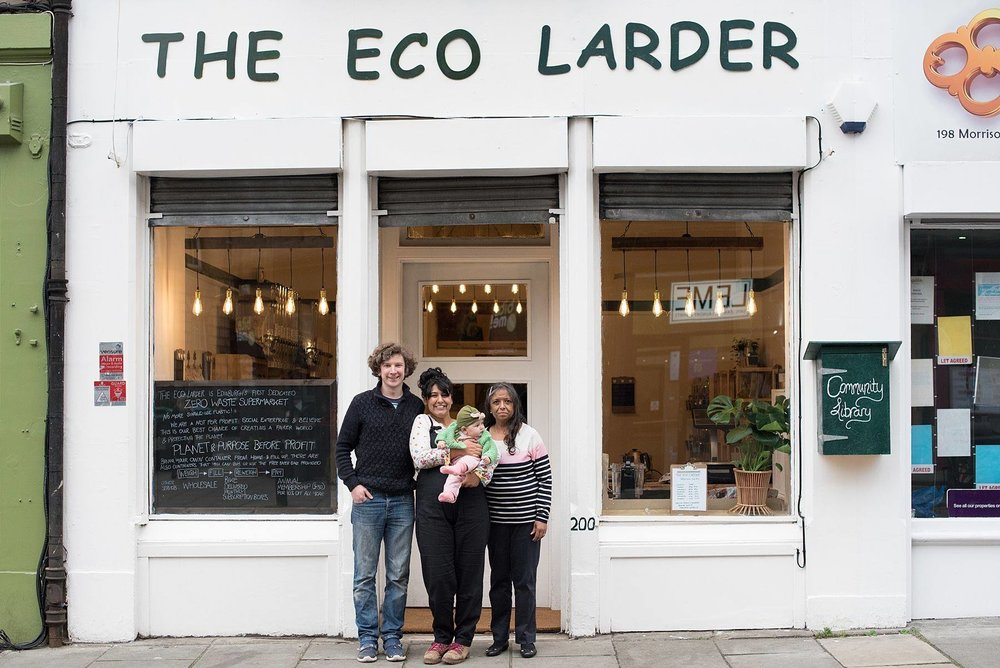 Volunteer with the Eco Larder!