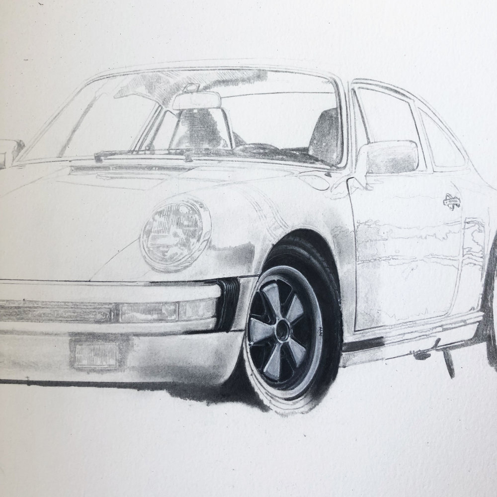 TED GUSHUE PORSCHE 911S