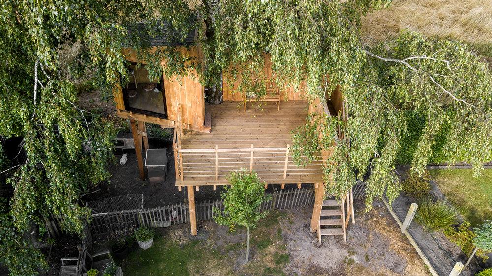 boomhut Neerpelt - klik voor meer foto's