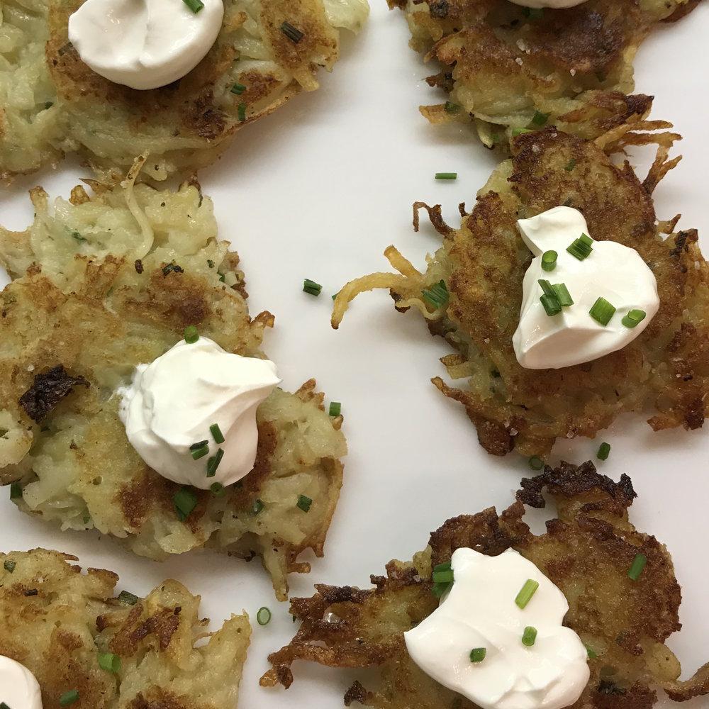 Perfect Potato Pancakes . Cooking for Jeffery . Week 3