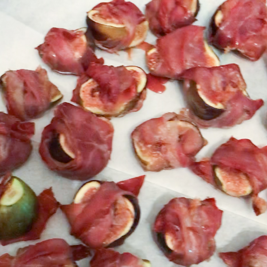Roasted Figs & Prosciutto . How Easy Is That? . Week 5