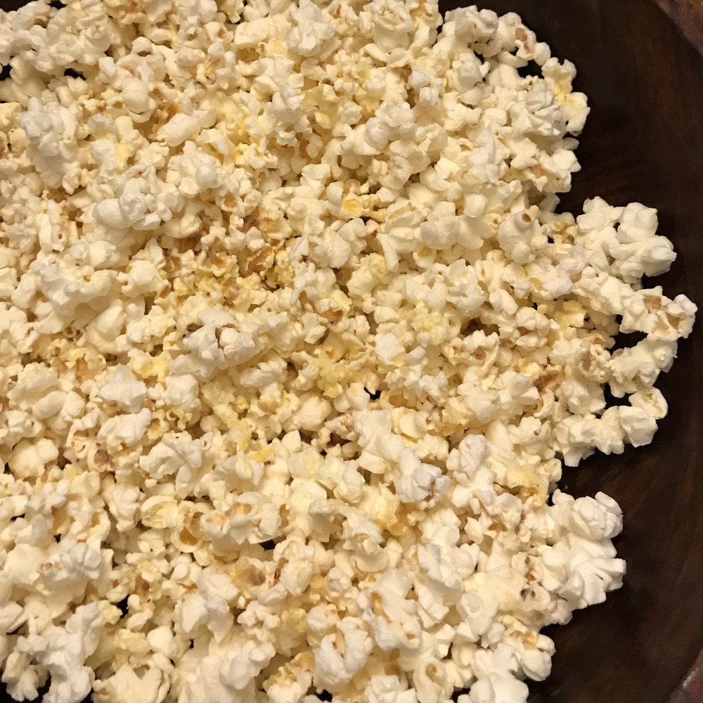 Truffled Popcorn . How Easy Is That? . Week 5