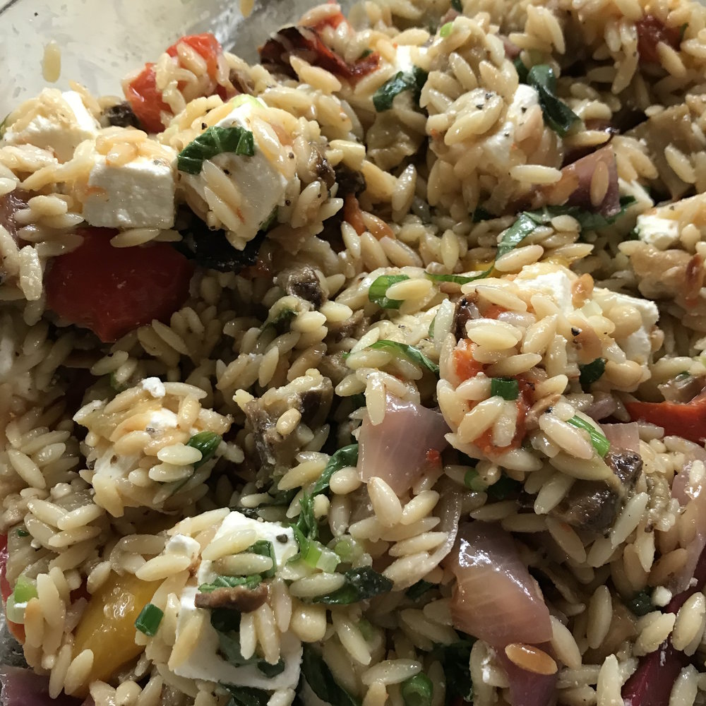 Orzo with Roasted Vegetables . Barefoot Contessa Parties! . Week 9