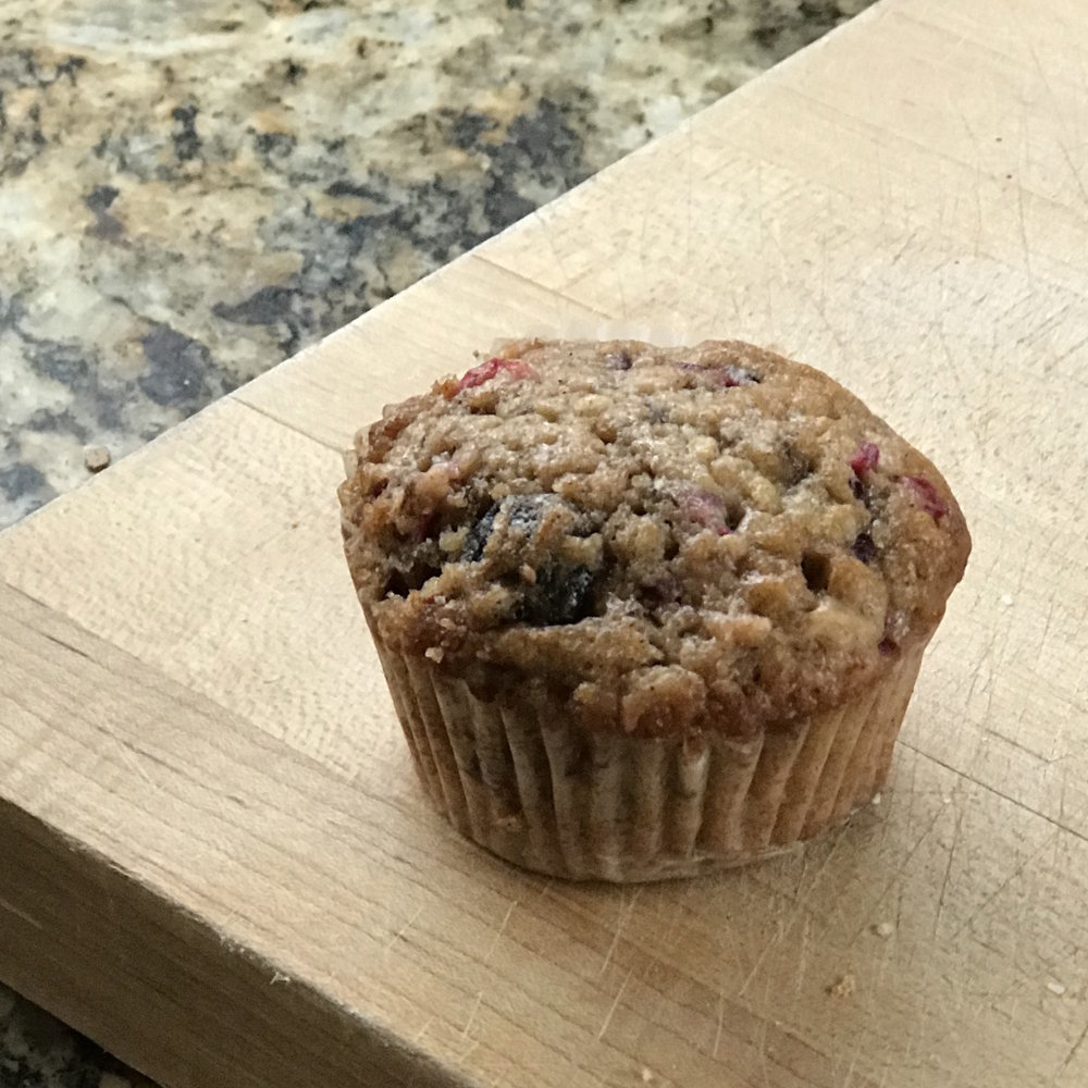 Cranberry Harvest Muffins . Barefoot Contessa Cookbook . Week 9