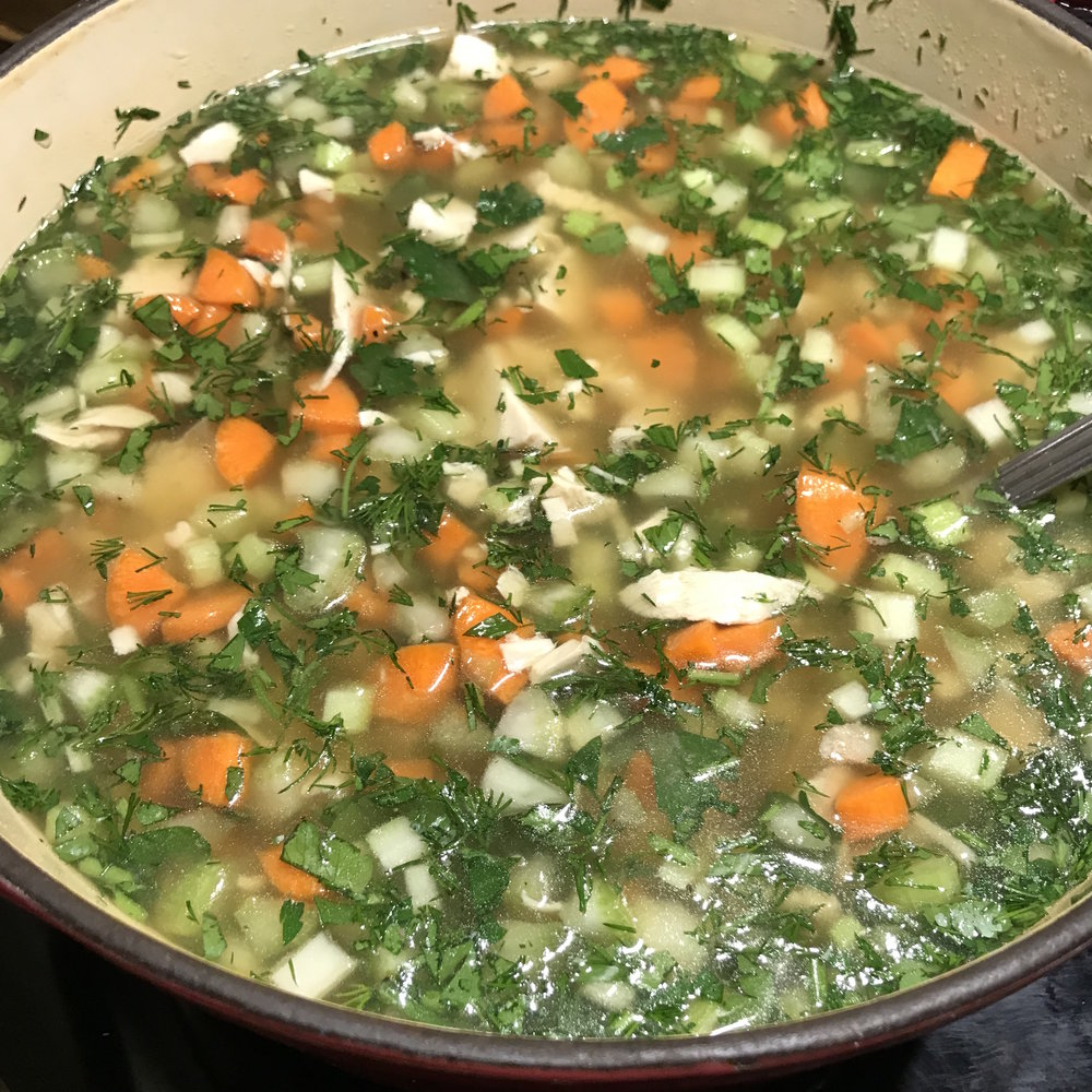 Chicken Soup . Barefoot Contessa Parties! . Week 13