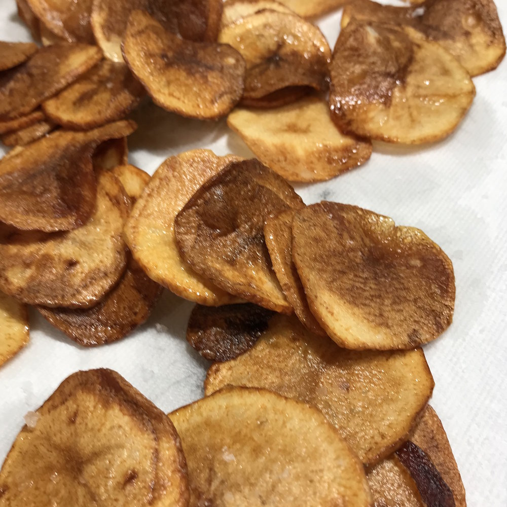 Potato Chips . Barefoot in Paris . Week 15