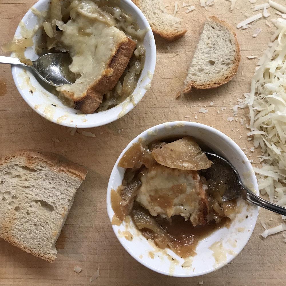 Fennel Soup Gratin . Barefoot Contessa Parties! . Week 15