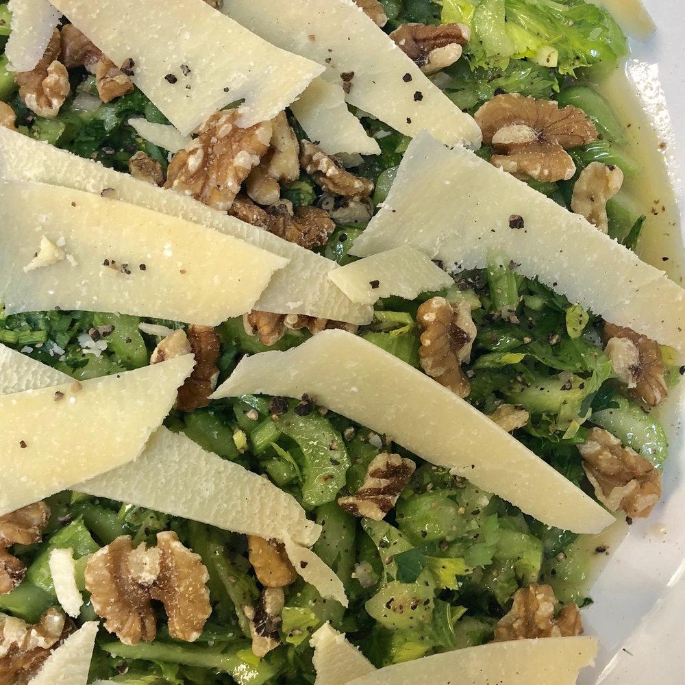 Celery & Parmesan Salad . How Easy Is That? . Week 16