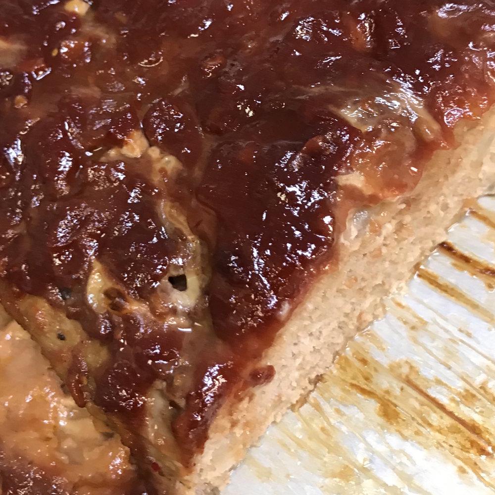 Turkey Meat Loaf . Barefoot Contessa Cookbook . Week 16