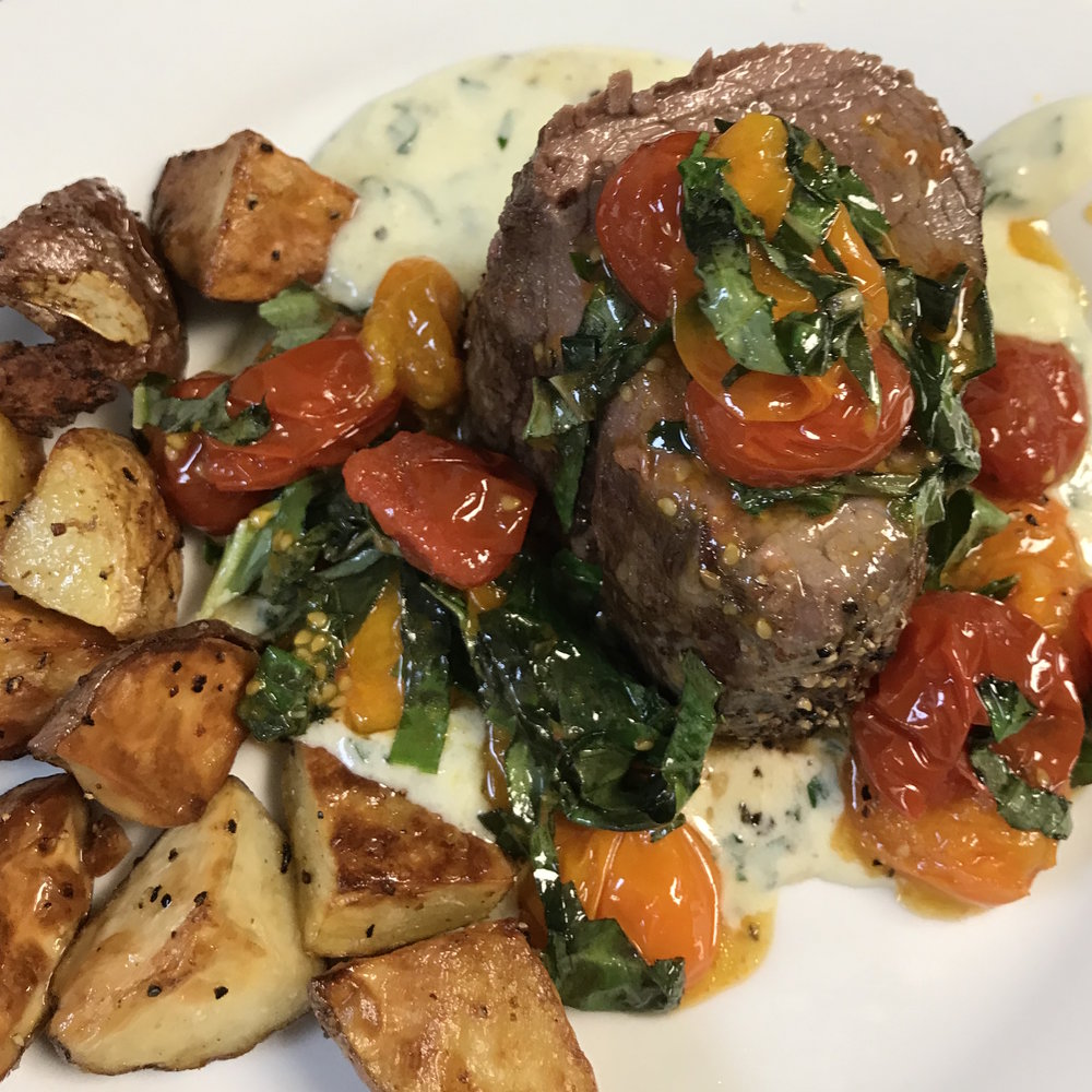 Filet of Beef with Gorgonzola Sauce . Barefoot Contessa Parties! . Week 16
