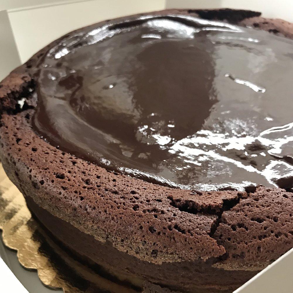 Chocolate Cassis Cake . Barefoot Contessa Foolproof . Week 19
